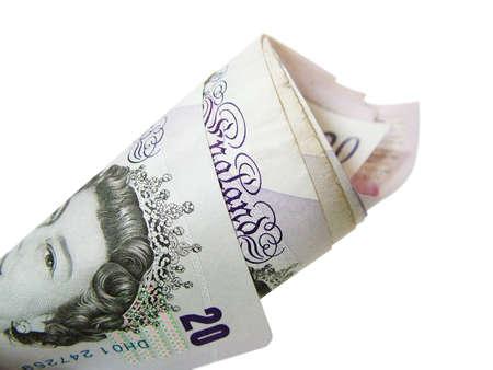 stash: Twenty pound note