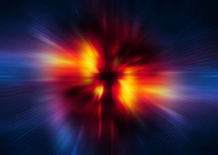 warp speed: Warp speed background illustration