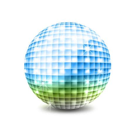 Disco ball photo