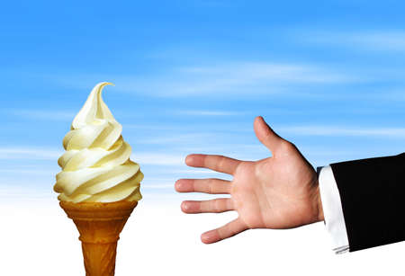 Tempting Ice cream photo