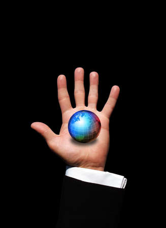 World in hand Stock Photo - 3021557