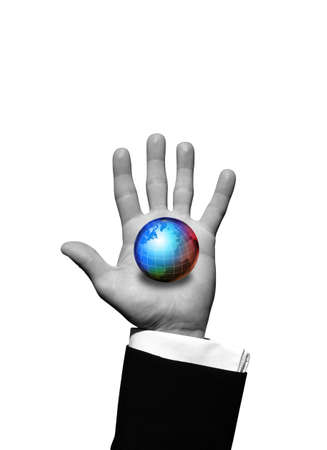 palm computer: World in hand