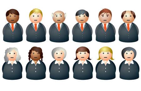 sales executive: La gente de negocios