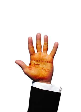 indonesia hand photo