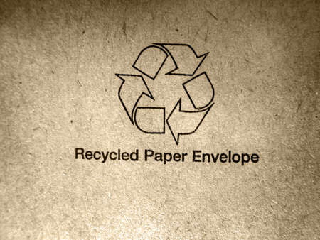 goffer: Recycled paper Stock Photo
