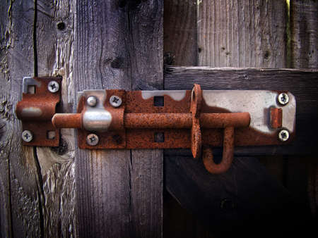 Rusty bolt lock Stock Photo - 3363739