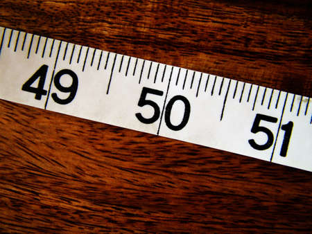 cinta de medir: La medida de la cinta