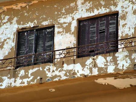 penury: Wooden shutters