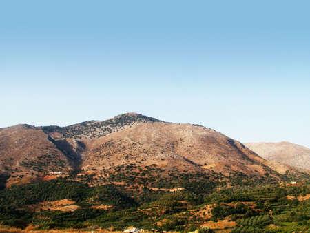 Crete mountains photo