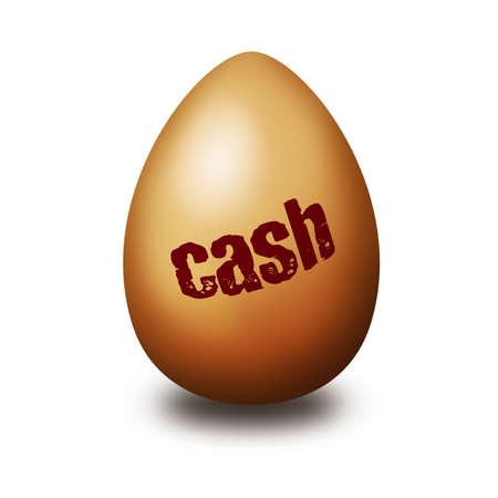 Cash egg photo
