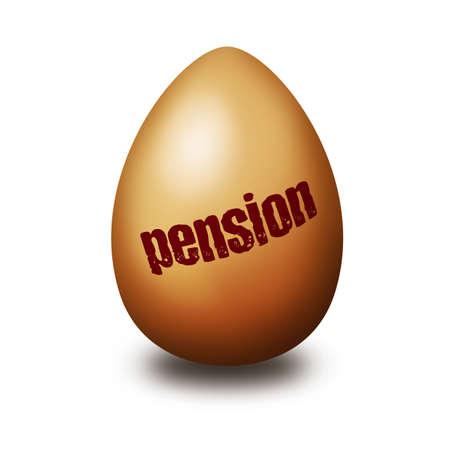 pension egg photo