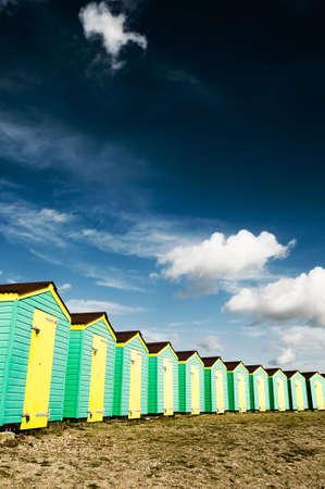 Beach huts Stock Photo - 3749332