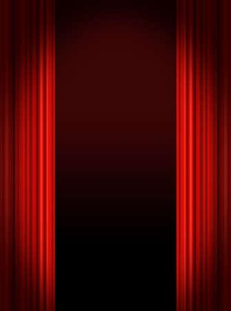 cortinas rojas: Red Etapa cortinas