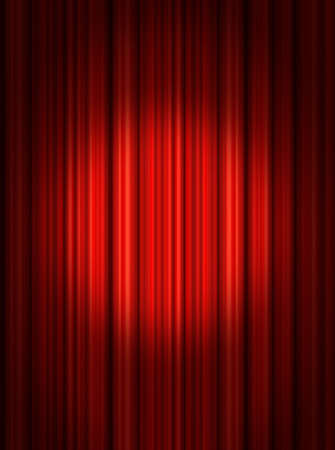 drapes: Spotlight on stage curtain