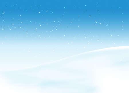Snow landscape Stock Photo - 3826719