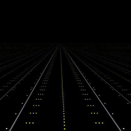 landing light: Runway Stock Photo