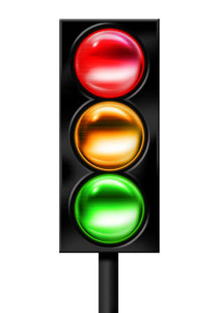 motorcars: Traffic light