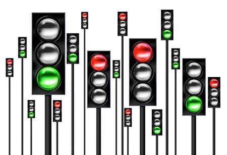obey: Traffic lights
