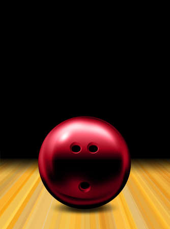 Bowling ball photo