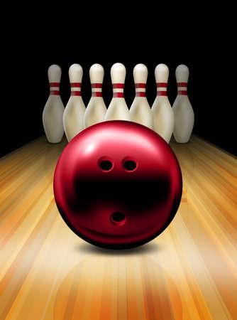 ten pin bowling: Bowling
