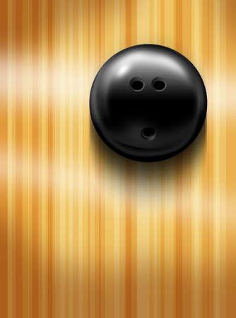 ten pin bowling: Bowling ball