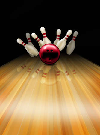 strike: Bowling strike