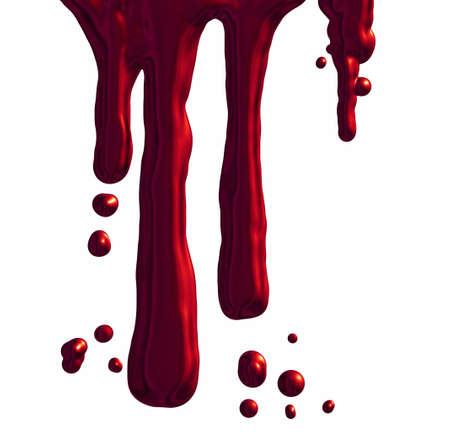 Dripping blood photo