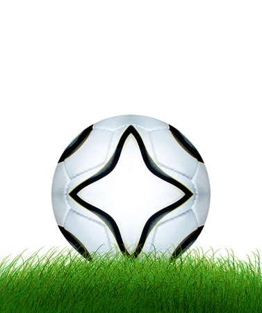 Football on field Stock Photo - 4304591