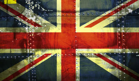 Grunge Union Jack Flag Stock Photo - 4341287
