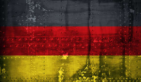 germany flag: Grunge German Flag