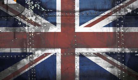 Grunge Union Jack Flag Stock Photo - 4341270