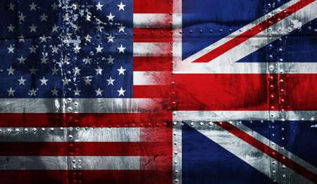 UK USA FLAG Stock Photo - 4341279