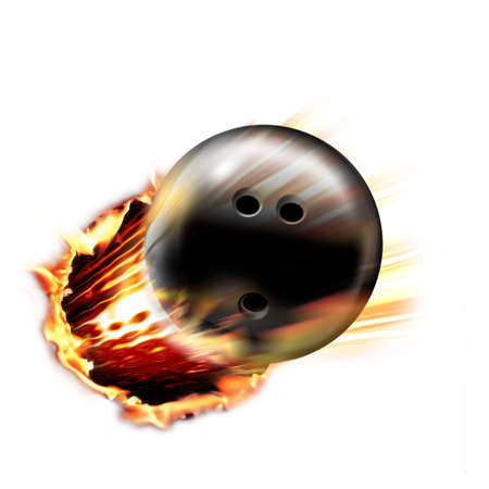 fire circle: Dynamic Bowling Ball