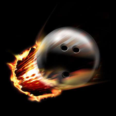 palla di fuoco: Dinamico Bowling Ball