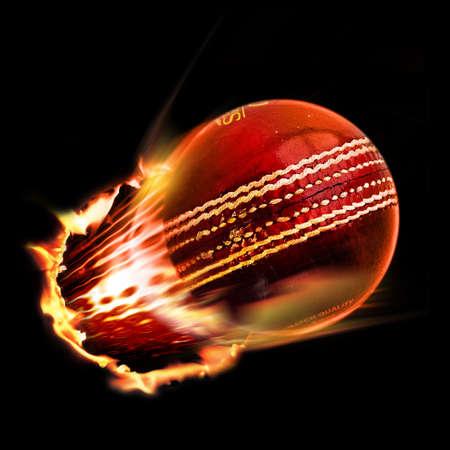 Cricket ball Stock Photo - 4362267
