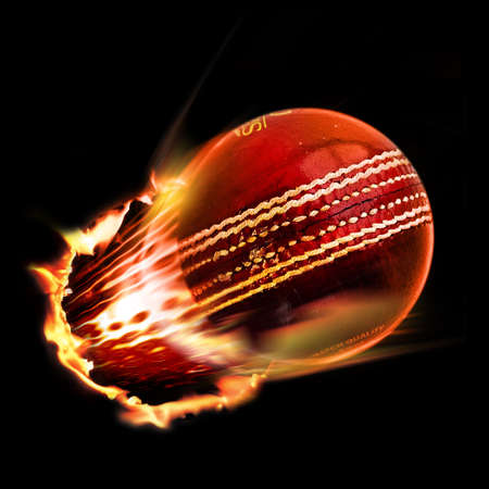 fire circle: Cricket ball