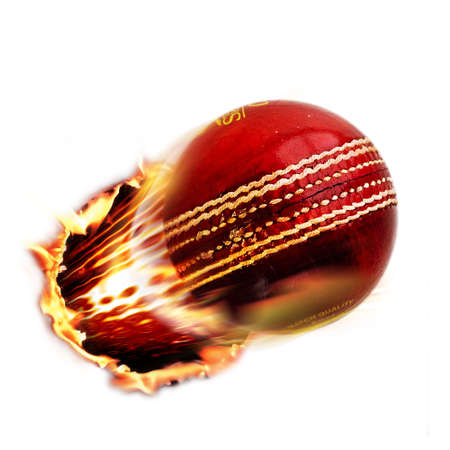 fast ball: Cricket ball