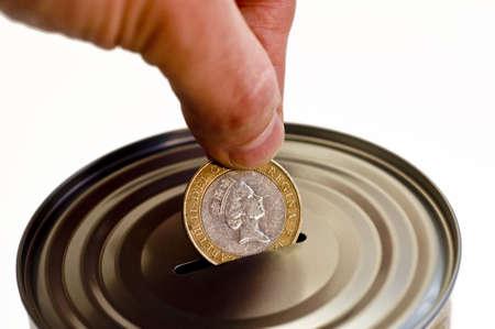 Tin money box Stock Photo - 4379825