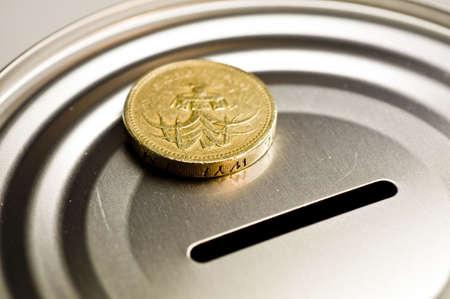 Tin money box Stock Photo - 4379829