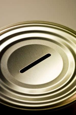 Tin money box Stock Photo - 4379832