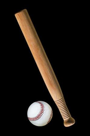 Baseball and bat  Stock Photo - 4379856