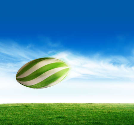 Rugby ball Stock Photo - 4405320