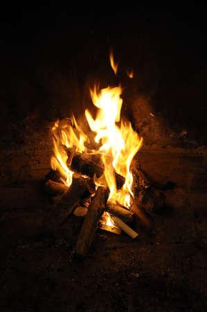 log fire: Entra fuoco