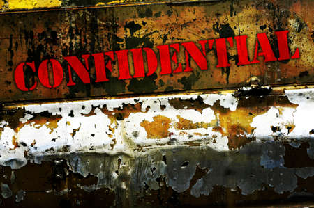 Confidential photo