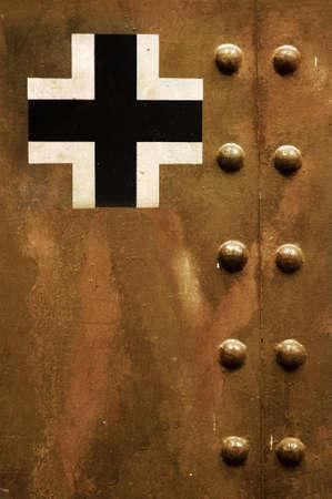 seconda guerra mondiale: Tedesco insegne Archivio Fotografico