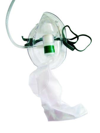 asthma: Sauerstoff-Maske