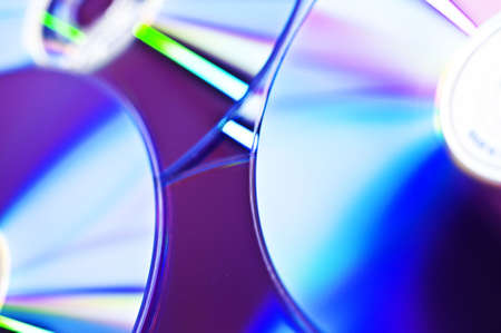 dvds: CD Discs Stock Photo