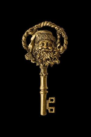 Santa key photo