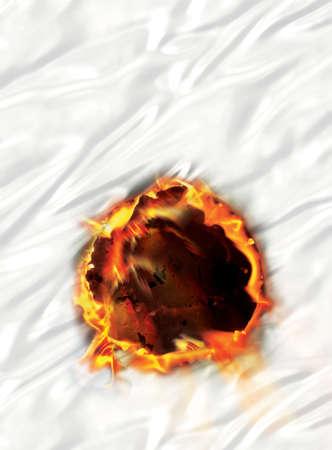 quemadura: C�rculo de fuego
