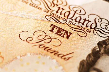 dosh: Ten pound note